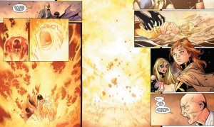 Avengers vs X-Men #11: Cyclops chokes the Phoenix Force out of Emma Frost