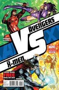 AvX: VS #4, Emma Frost vs Thor