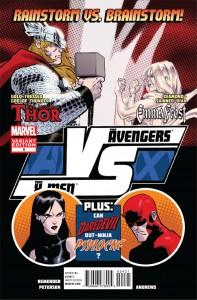 AvX: VS #4, Emma Frost vs Thor variant