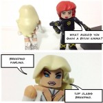 New X-Men: Emma vs Jean minimate