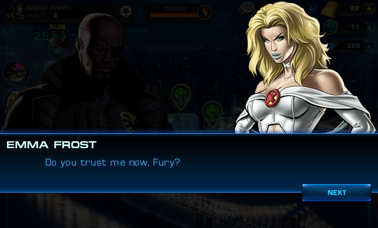 Emma Frost: Do you trust me?