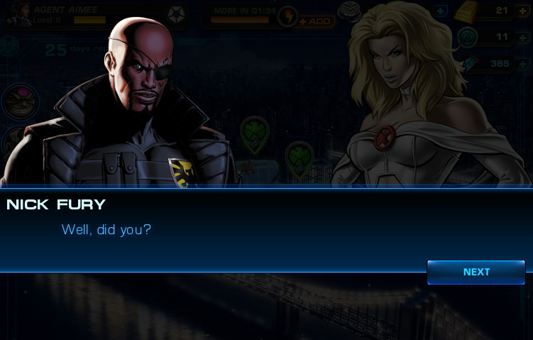 Emma Frost: Blob mission dialogue, 02