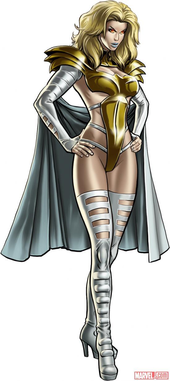 Avengers Alliance: Emma Frost Phoenix costume