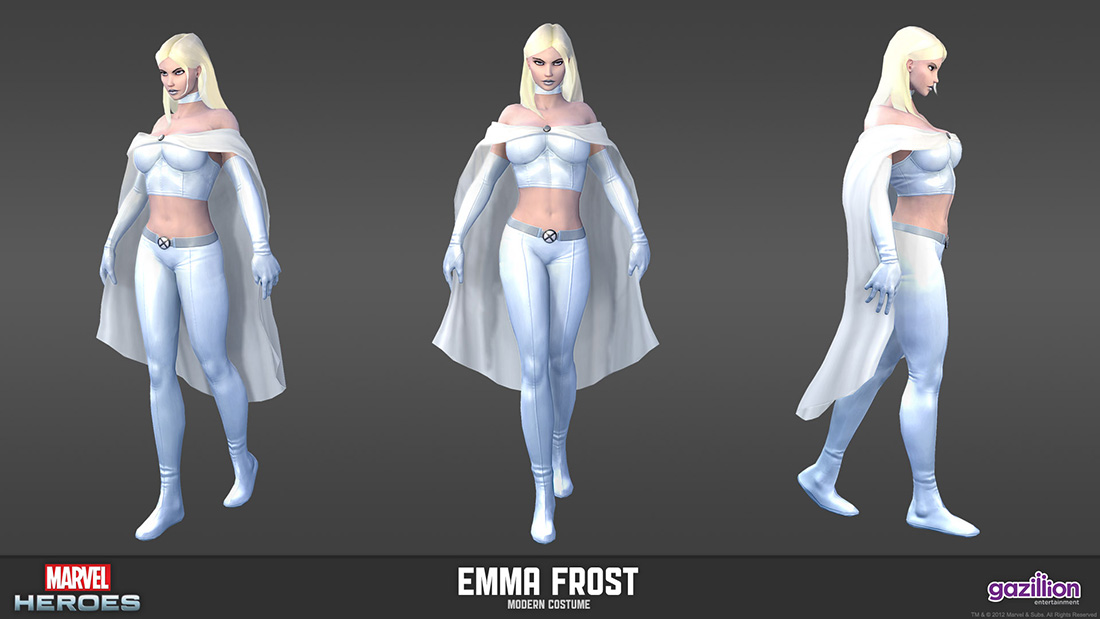 Marvel Heroes MMO: Emma Frost