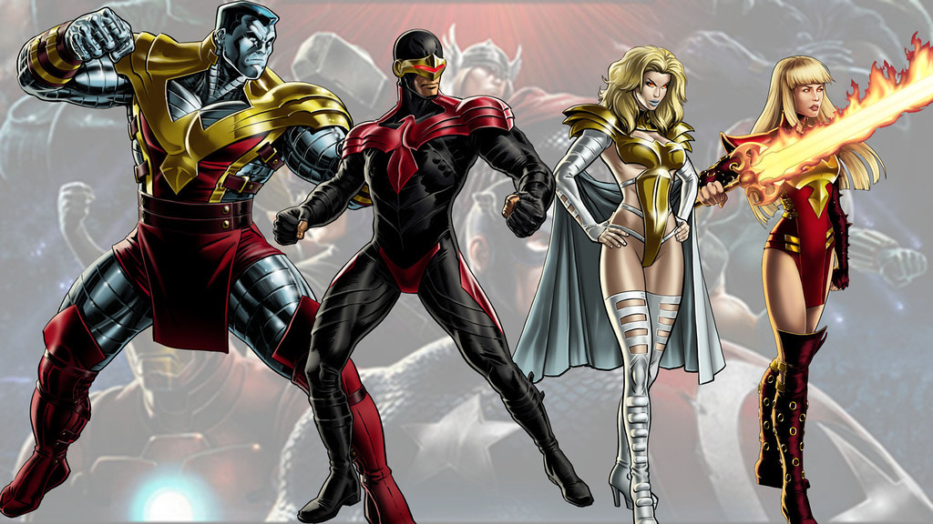Phoenix Five: Avengers Alliance Facebook game