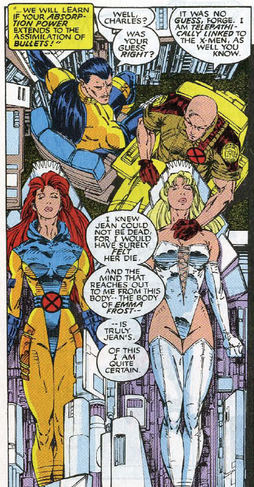 From Uncanny X-Men #283