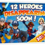 Super Hero Squad Online unavailable characters
