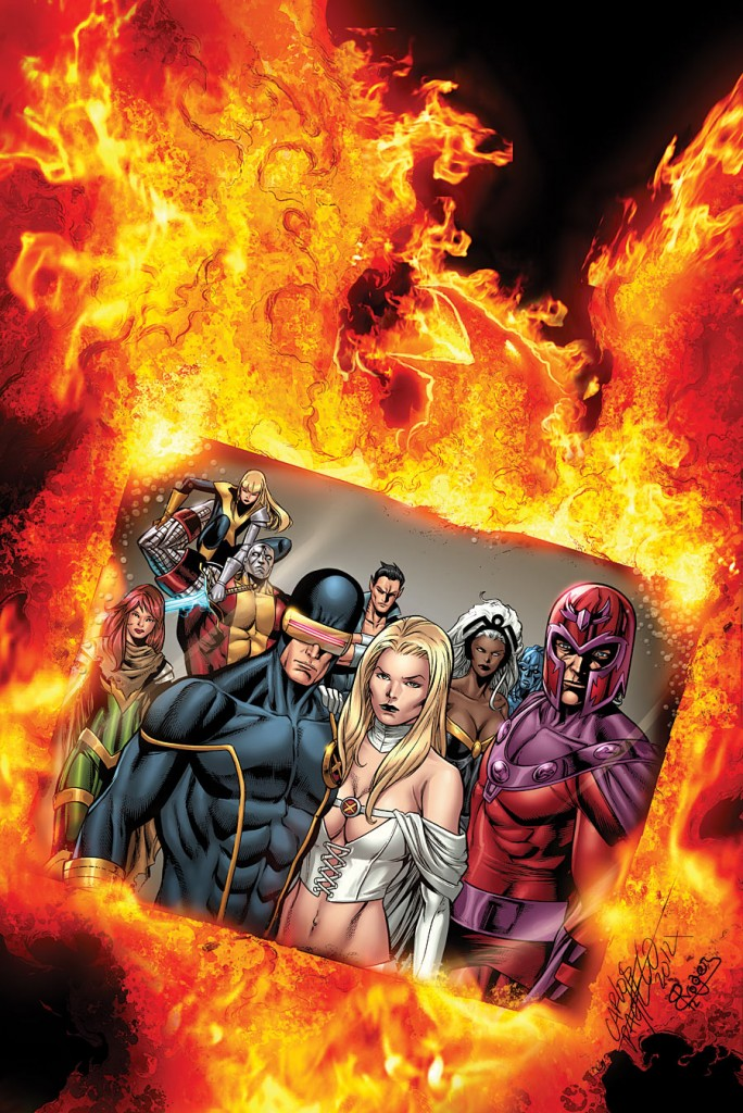 Uncanny X-Men #20 by Carlos Pacheco