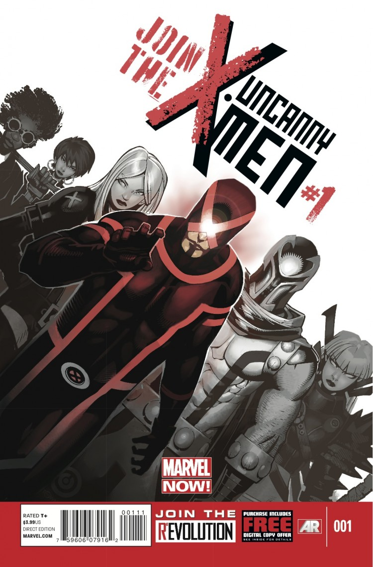 Uncanny X-Men #1 by Bendis & Bachalo