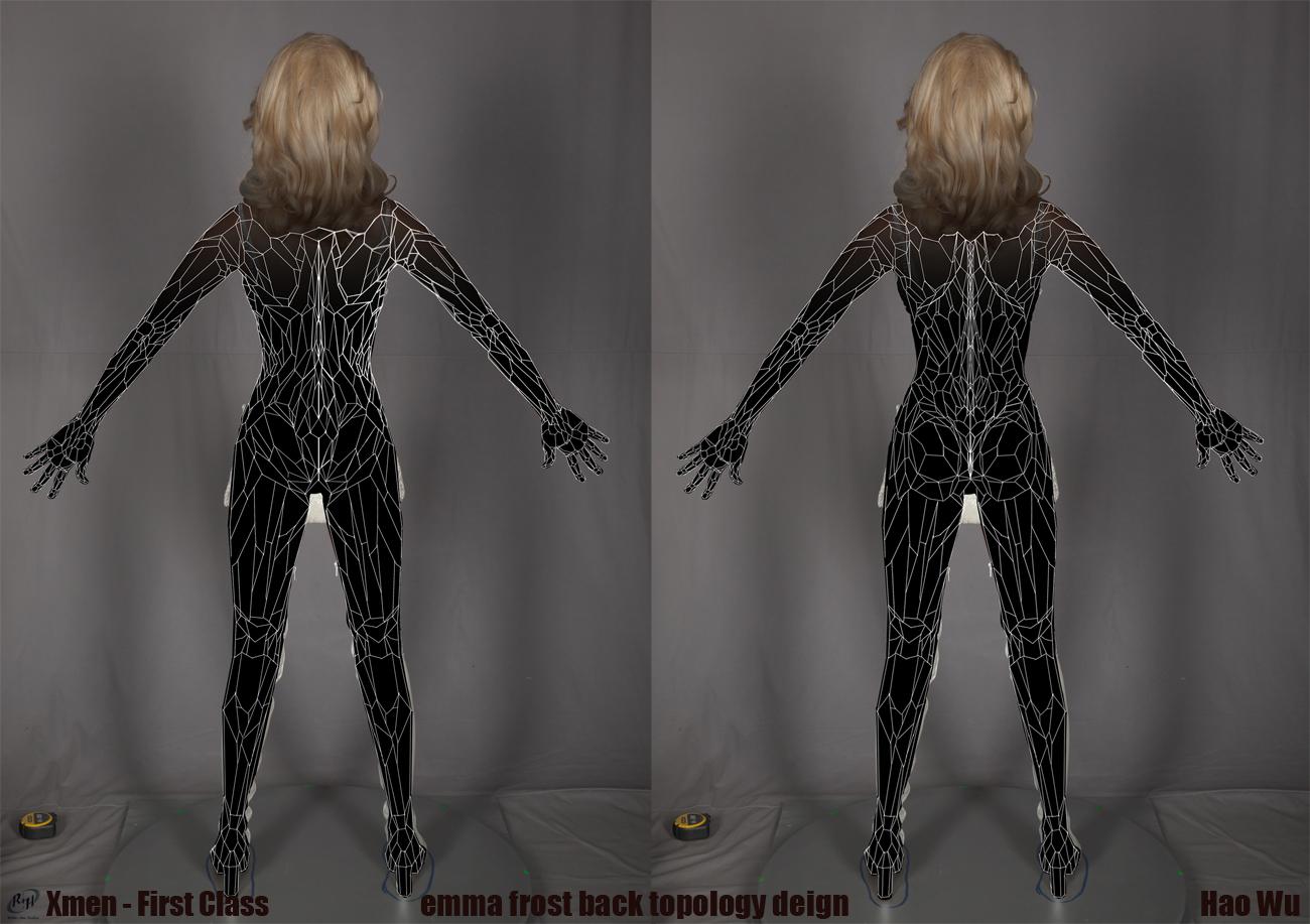 Emma Frost concept art for 'X-Men: First Class'