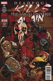 Deadpool Kills the Marvel Universe Again (2017) #3 cover