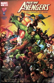 New Avengers: American Armed Forces Exclusive #7