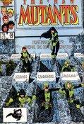 New Mutants (1983) #38 cover