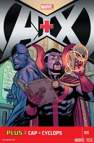 A+X (2012) #15 cover