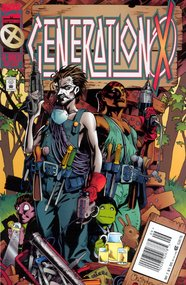 Generation X (1994) #7 cover
