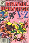 Official Handbook Of The Marvel Universe #12 cover