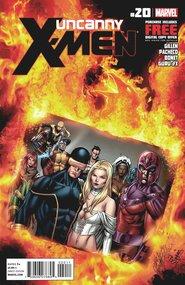 Uncanny X-Men (2011) #20 cover