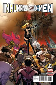 Inhumans vs. X-Men (2016) #6