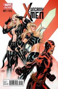 Uncanny X-Men v3 #21 (Terry & Rachel Dodson Variant Cover)