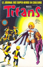 Titans (French) #73