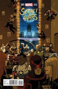 Secret Wars (2015) #1