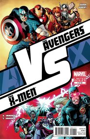 Avengers Vs. X-Men: Versus (2011) #1 cover