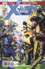 X-Men: Blue (2017) #18 cover
