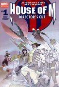 House of M Director's Cut (2005) #1 cover
