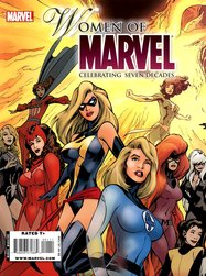 Women of Marvel: Celebrating Seven Decades (2010) #1 cover