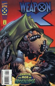 Weapon X (1995) #4 cover