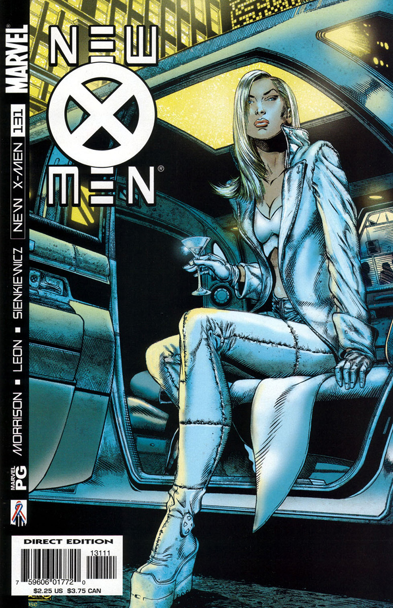 new xmen 2001 131 emma frost files