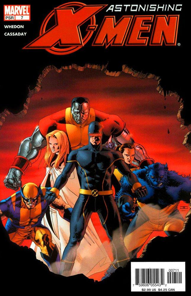 Astonishing X Men 2004 7 Cover