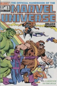 Official Handbook Of The Marvel Universe - Deluxe Edition (1985) #5