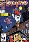 Excalibur (1988) #21 cover