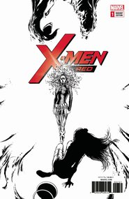 X-Men: Red #1 Black & White Variant