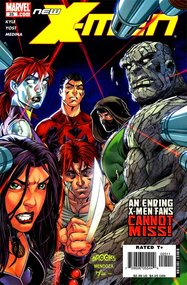 New X-Men (2004) #25 cover
