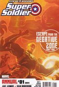 Steve Rogers: Super Soldier Annual (2011) #1 cover