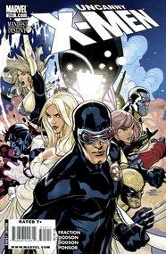 Uncanny X-Men (1963) #505 cover