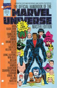 Official Handbook of the Marvel Universe Master Edition (1990) #28