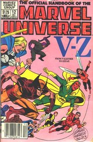 Official Handbook Of The Marvel Universe (1983) #12