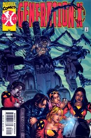 Generation X (1994) #64 cover