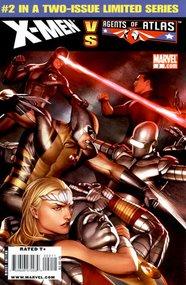 X-Men Vs. Agents of Atlas (2009) #2