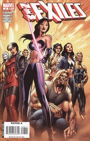 New Exiles (2008) #8 cover