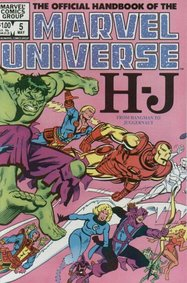Official Handbook Of The Marvel Universe (1983) #5