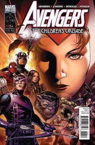 Avengers: The Children's Crusade (2011) #6 cover