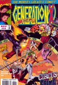 Generation X (1994) #32 cover