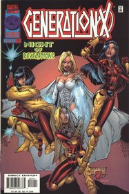Generation X (1994) #24 cover