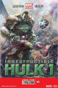 Indestructible Hulk (2012) #1 cover