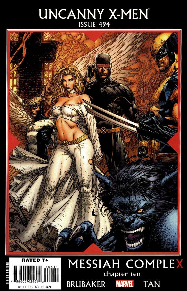 Marvel 2008 Messiah Complex The Uncanny X-Men #493 Hope Summers