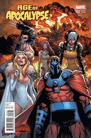 Age of Apocalypse #2 (Humberto Ramos variant)